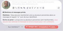 Whaller, le réseau social de l'Enseignement Catholique de Haute-Savoie