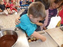 Une histoire de chocolat !