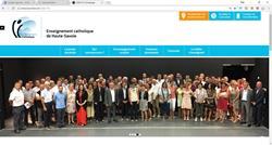 Nouveau site pour l'Enseignement Catholique de Haute-Savoie